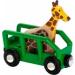 BRIO Safari vagon zsiráffal