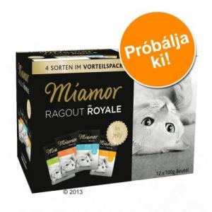 Miamor Ragout Royale vegyes próbacsomag 12 x 100 g - Nyúl, csirke & tonhal