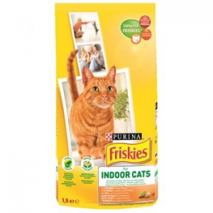 Friskies Adult CAT Indoor macskaeledel, 1.5 kg (7613031341887)