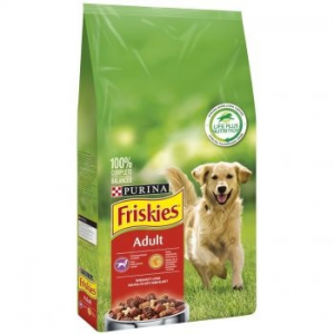 Friskies DOG Active kutyaeledel, Hús, 15 kg (7613031394876)