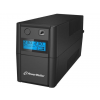 Power Walker UPS Line-Interactive 650VA 2x 230V PL OUT  RJ11 IN/OUT  USB  LCD