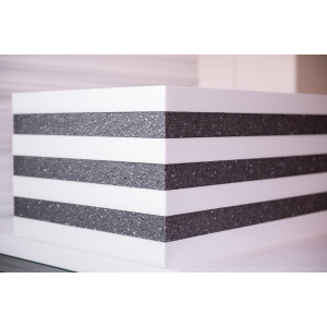 Cellotherm EPS 80 gray hőszigetelő lemez 12 cm vastag (Cellotherm CT-EPS-80-G-12 polisztirol gray (hungarocell,)