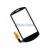 Huawei U8800 Touch Pad, érintőpanel fekete