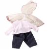 Götz esőkabát, nadrág és felső (42-46 cm-es babára)