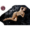 Fetish Collection Lakk lepedő - fekete - 200 x 230cm