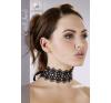 Cottelli Jewels Csipke nyakpánt gyöngyökkel és strasszokkal női ruházati kiegészítő