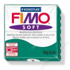 Gyurma, 56 g, égethető, FIMO Soft, smaragdzöld (FM802056)