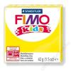 Gyurma, 42 g, égethető, FIMO Kids, sárga (FM80301)