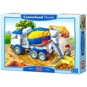 Castorland Betonkeverő - 60 darabos puzzle