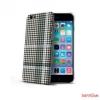CELLY iPhone 6 műanyag hátlap,kockás,Fekete
