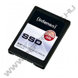 Intenso SSD 256GB TOP (SATA III, Reading: 520 MB/s, Writing: 400 MB/s)