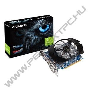 Gigabyte PCI-E Nvidia GT740 OC (1024MB DDR5, 128bit, 1072/5000MHz, Dsub, DVI, HDMI, Dual Slot Ventilátor)