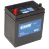 35Ah EXIDE Excell EB357 ASIA autó akkumulátor bal+
