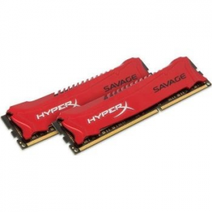 Kingston HyperX Savage memória, 16GB(2x8GB), DDR3, 1600MHz, CL9, 1.5V, XMP (HX316C9SRK2/16)