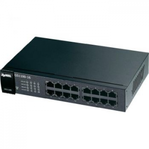 ZyXEL GS1100-16 switch, 16 x 10/100/1000Mbps port (GS1100-16-EU0101F)