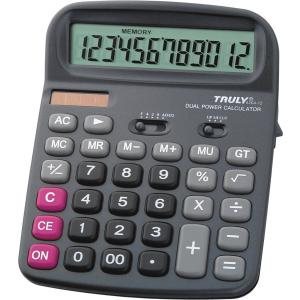 Számológép truly 836a-12 asztali számológép P5130-1125