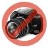 Gecko Apple iPhone 6 hátlap képernyővédő fóliával - Gecko Vision - black/clear