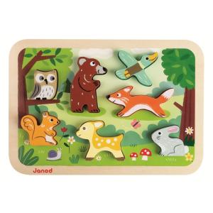 JANOD 3D puzzle - erdő
