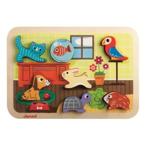 JANOD 3D puzzle - háziállat