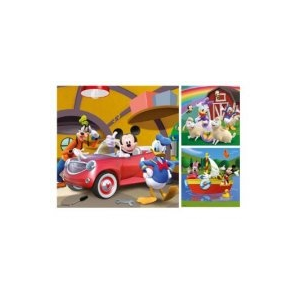 Ravensburger Mickey puzzle 3x49 db
