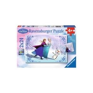 Ravensburger Jégvarázs Testvérek örökre puzzle 2x24 db