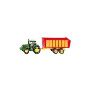 Siku John Deere traktor pótkocsival (1650)