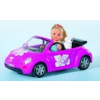 Simba Steffi baba New Beetle autóban