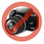 Muvit Samsung SM-G386 Galaxy Core LTE hátlap - Muvit miniGel - black