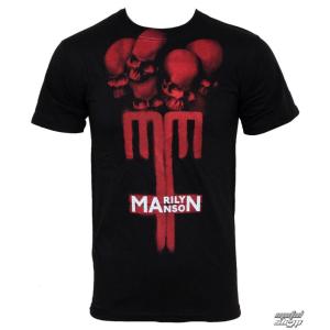 BRAVADO póló férfi Marilyn Manson - Skull Cross - BRAVADO USA - MAN1024