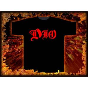 RAZAMATAZ póló férfi Dio - Logo - ST1658 - RAZAMATAZ