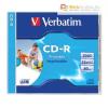 Verbatim CD-R 700 MB, 80min, 52x, normál tokban (Verbatim)