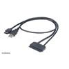 Akasa Flexstor eSATA + USB - 2,5