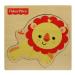 Fisher-Price állatos fa puzzle - oroszlán