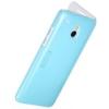 Nillkin Fresh oldalra nyíló bőrbevonatos, kemény műanyag hátú fliptok HTC M4 One mini kék*