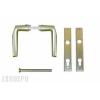 Törésvédő pajzs portálzárhoz 90 mm (F2 kilincses)
