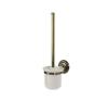 Bisk 00412 Deco WC-kefe, tartóval fürdőszoba kiegészítő