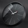 SIGEL Falióra, 36 cm, rádióvezérlésű, SIGEL artetempus®-ondo, fekete (SWU113)