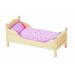 Goki Fa játék babaágy, ágynemű nélkül