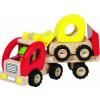Goki Fa trailer bulldózerrel
