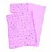 Goki Ágynemű fa játék babaágyhoz, rózsaszín