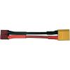Modelcraft Modelcraft Adapterkábel T-csatlakozóaljat XT60 csatlakozódugóra 2,5 mm² 700 mm