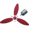 Modelcraft Modelcraft Légcsavar készlet 3 szárnyas