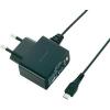 BASETECH USB-s töltőkészülék Basetech PPC-5MU Mikro USB 1 x 1000 mA