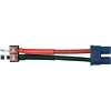 Modelcraft Modelcraft Adapterkábel T csatlakozódugó EC3 csatlakozóra 2.5 mm² 10 cm