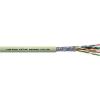 UNITRONIC® LiYCY (TP) adatkábel, 8 x 2 x 0.14 mm² szürke, méteráru, LappKabel