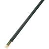 Conrad CCA Lapos szalag-telefonkábel, kiszerelt 10 x 0,08 mm² Fekete 50 m Conrad