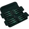 Wera Mikro csavarhúzó készlet, egyenes/kereszthornyú-PH/TORX®/belső hatlapú, Wera Kraftform