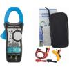 HoldPeak 870C Digitális lakatfogó, VDC,VAC,ADC,AAC,ellenállás,kapacitás,hőmérséklet,2 kijelző.