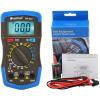 HoldPeak 36T Digitális multiméter, VDC, VAC, ADC, ellenállás, hőmérséklet, dióda, hFE, szakadás.