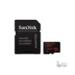Sandisk 128GB SD micro (SDXC Class 10) mobile ultra Android app memória kártya adapterrel